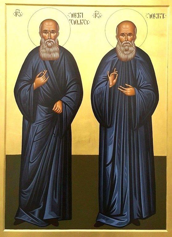 Святые Преподобноисповедники Георгий-Иоанн (Мхеидзе) и Иоанн (Майсурадзе), Бетанийские.
