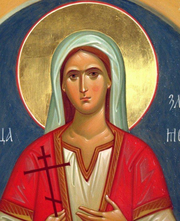 Святая Великомученица Злата Могленская. Иконописец Наталия Пискунова.