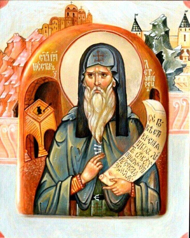 Святой Преподобный Нестор Летописец, Печерский.