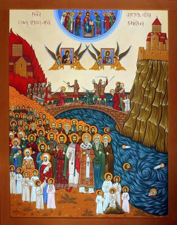 Святые Сто тысяч Мучеников Тбилисских.