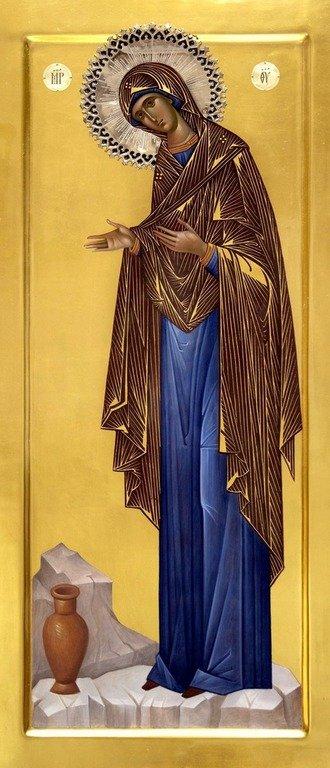"""Икона Божией Матери """"Геронтисса""""."""