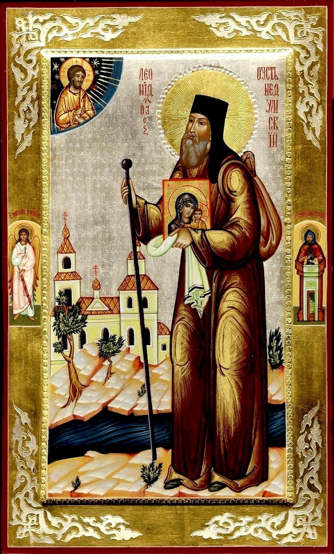 Святой Преподобный Леонид Устьнедумский.