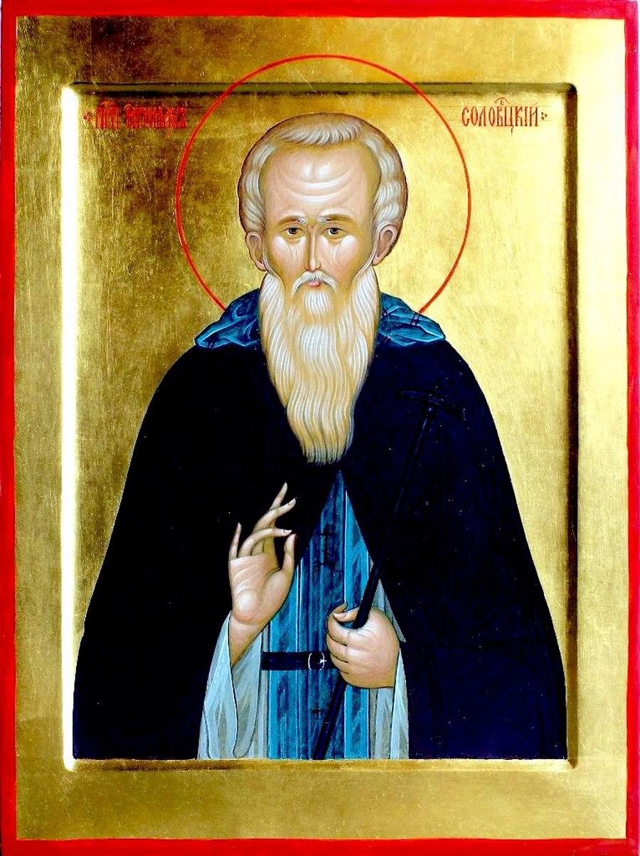 Святой Преподобный Иринарх Соловецкий.