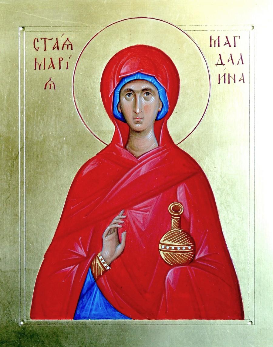 Святая Мироносица Равноапостольная Мария Магдалина. Иконописец Яков Прокофьев.