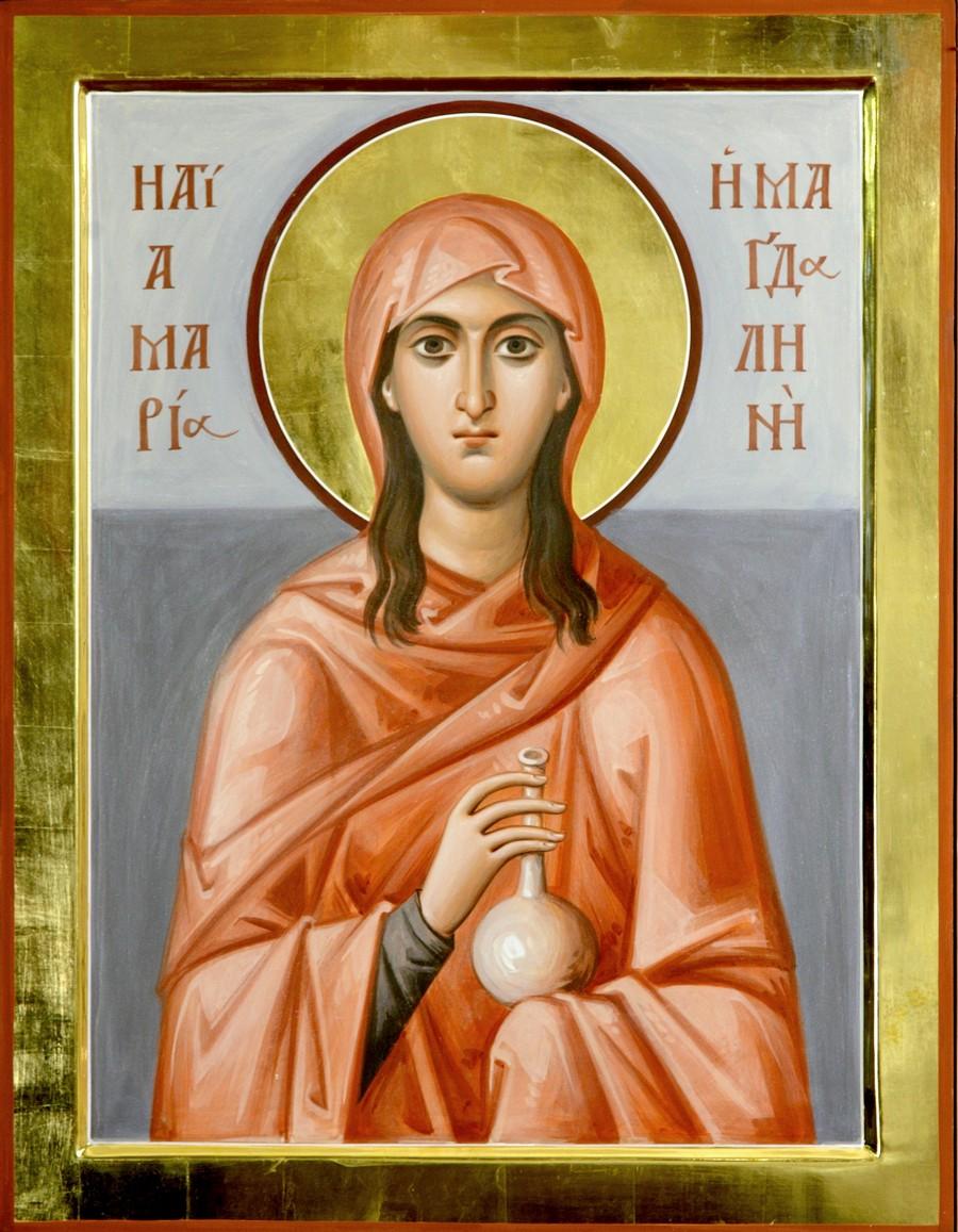 Святая Мироносица Равноапостольная Мария Магдалина. Иконописец архимандрит Зинон (Теодор).