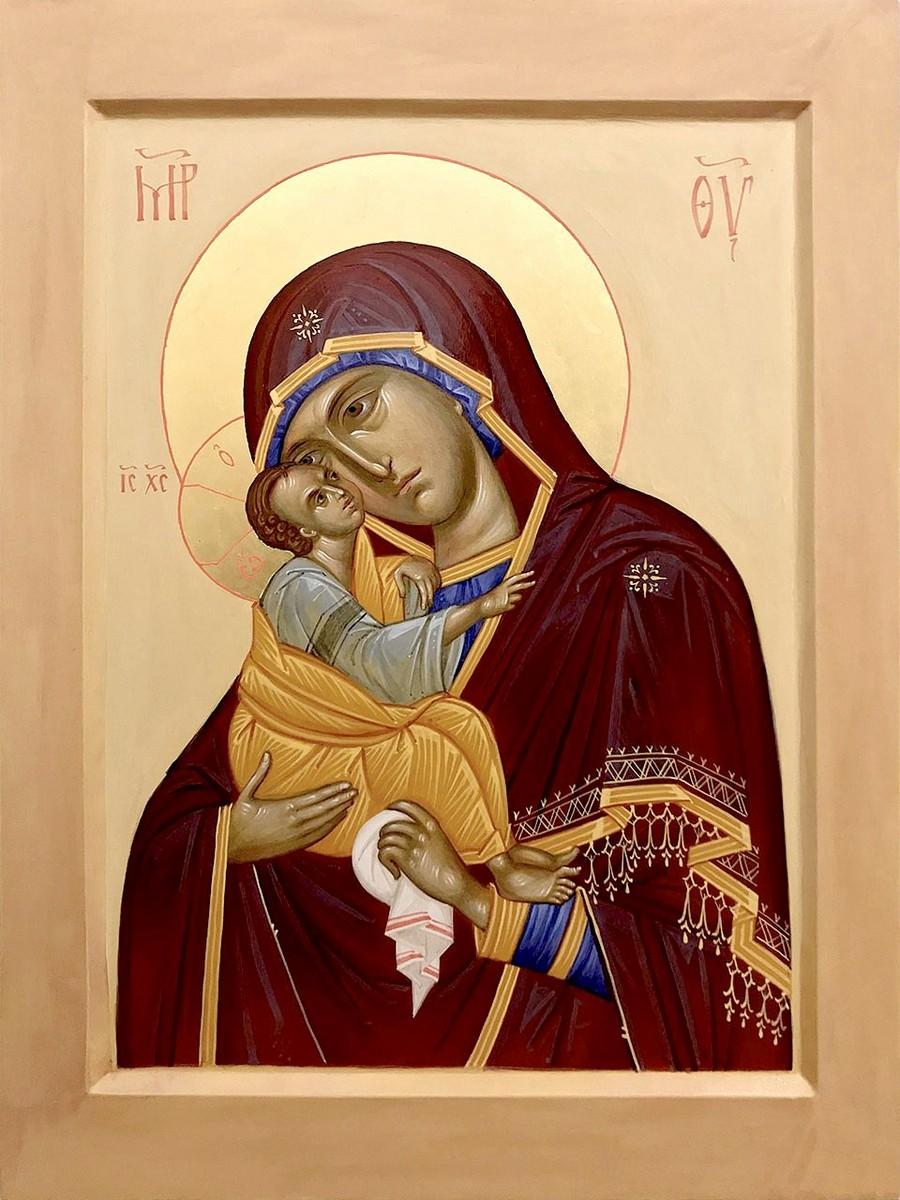 Почаевская икона Божией Матери.