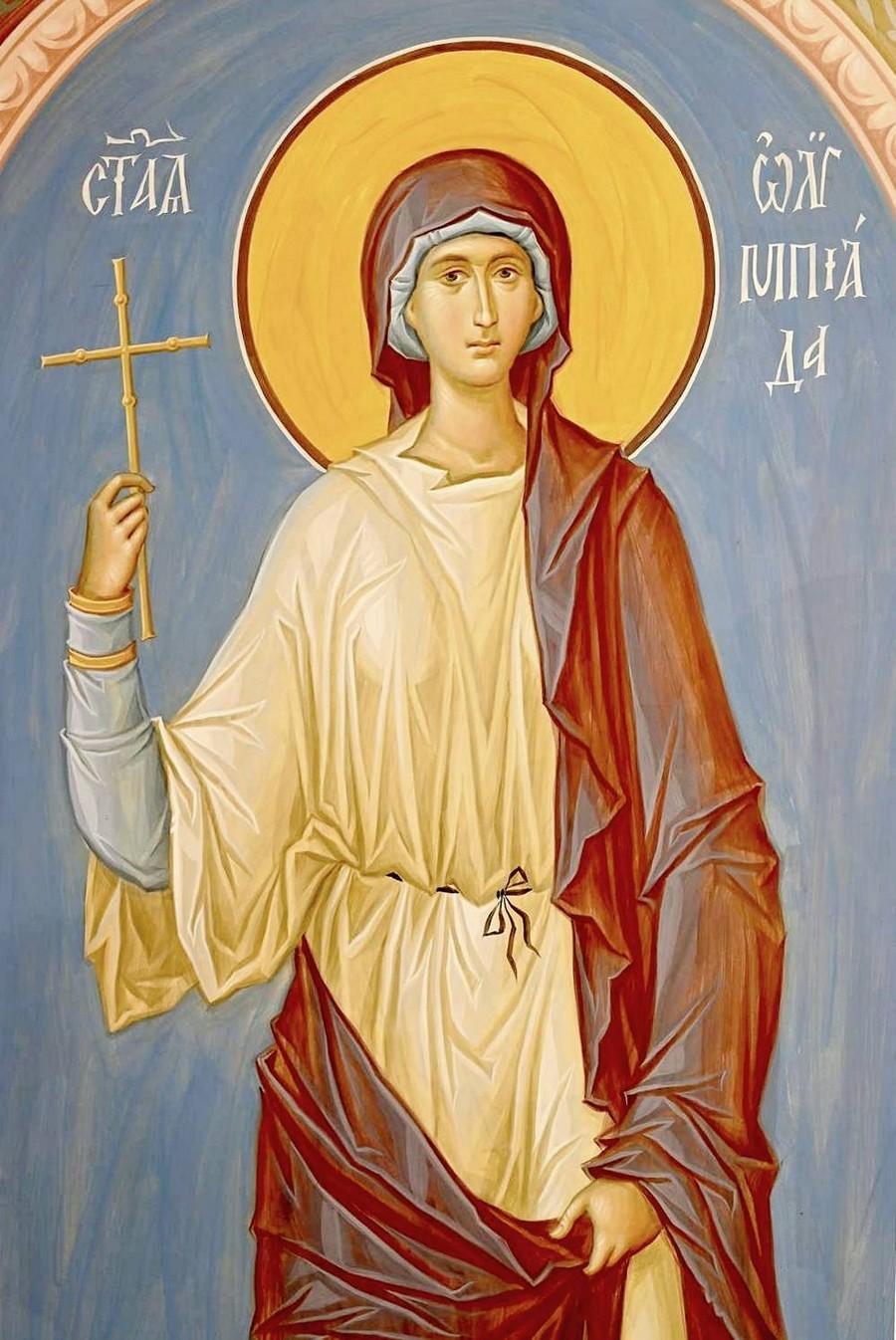 Святая Олимпиада, диаконисса Константинопольская.