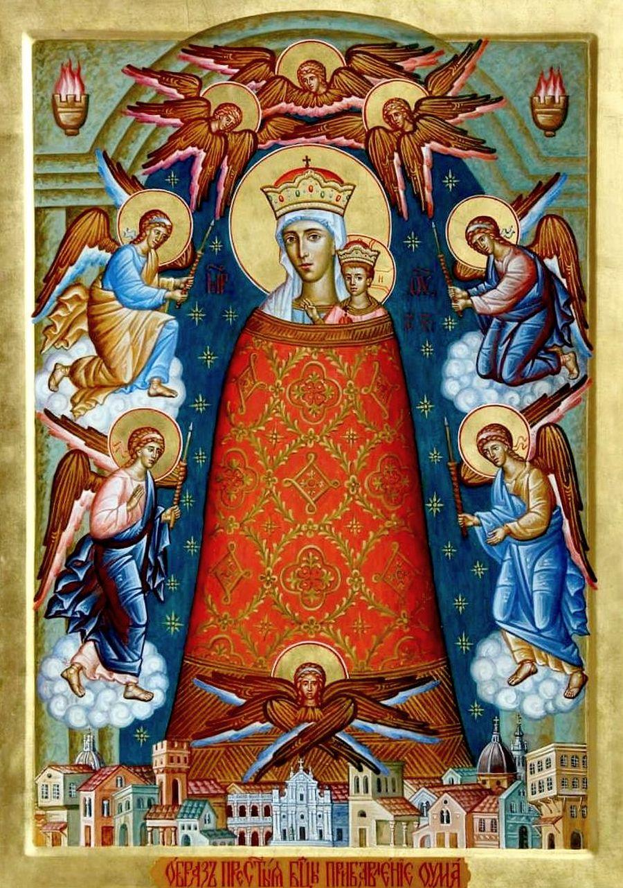 """Икона Божией Матери """"Прибавление ума""""."""