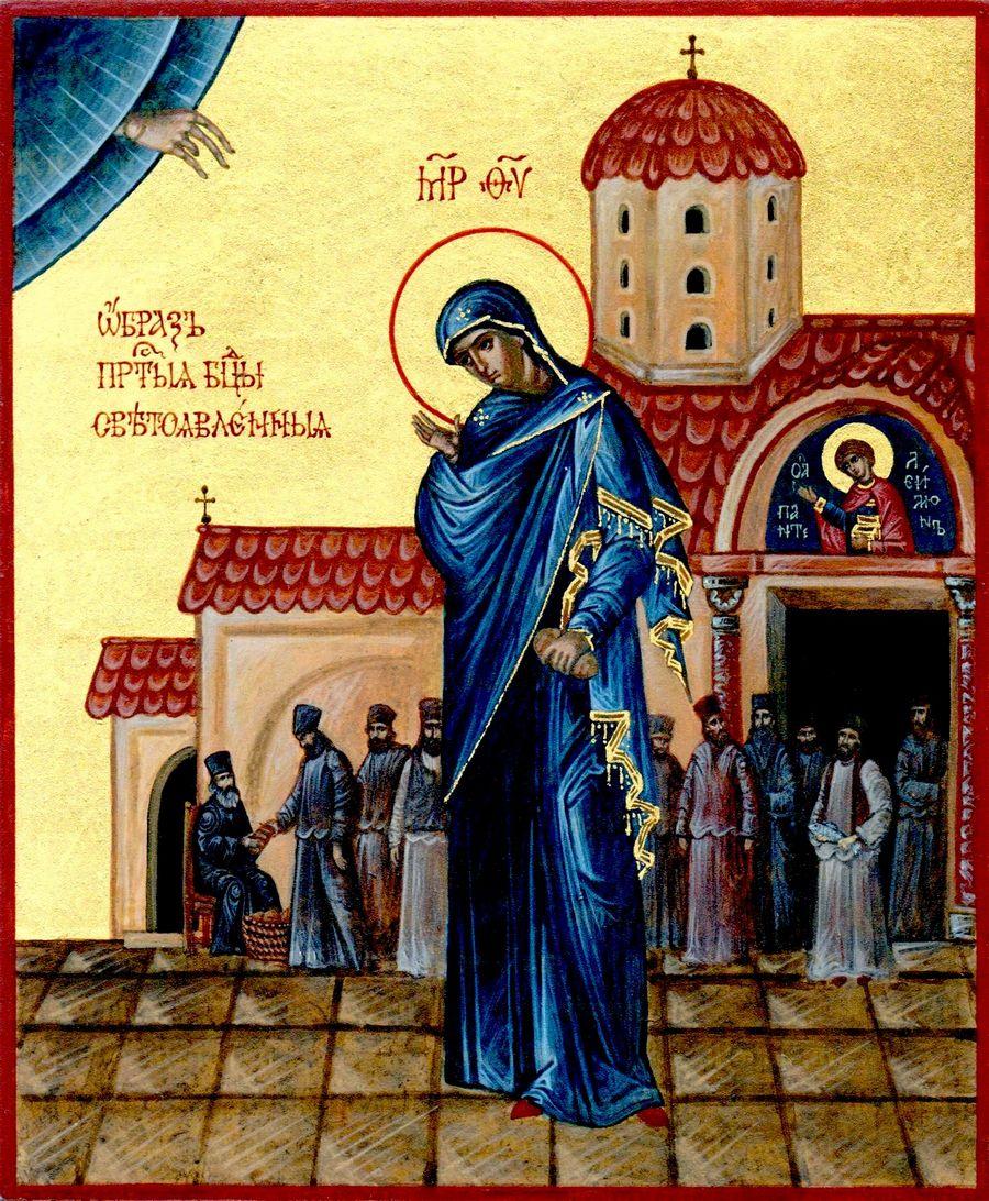 Светописанный образ Божией Матери. Икона.