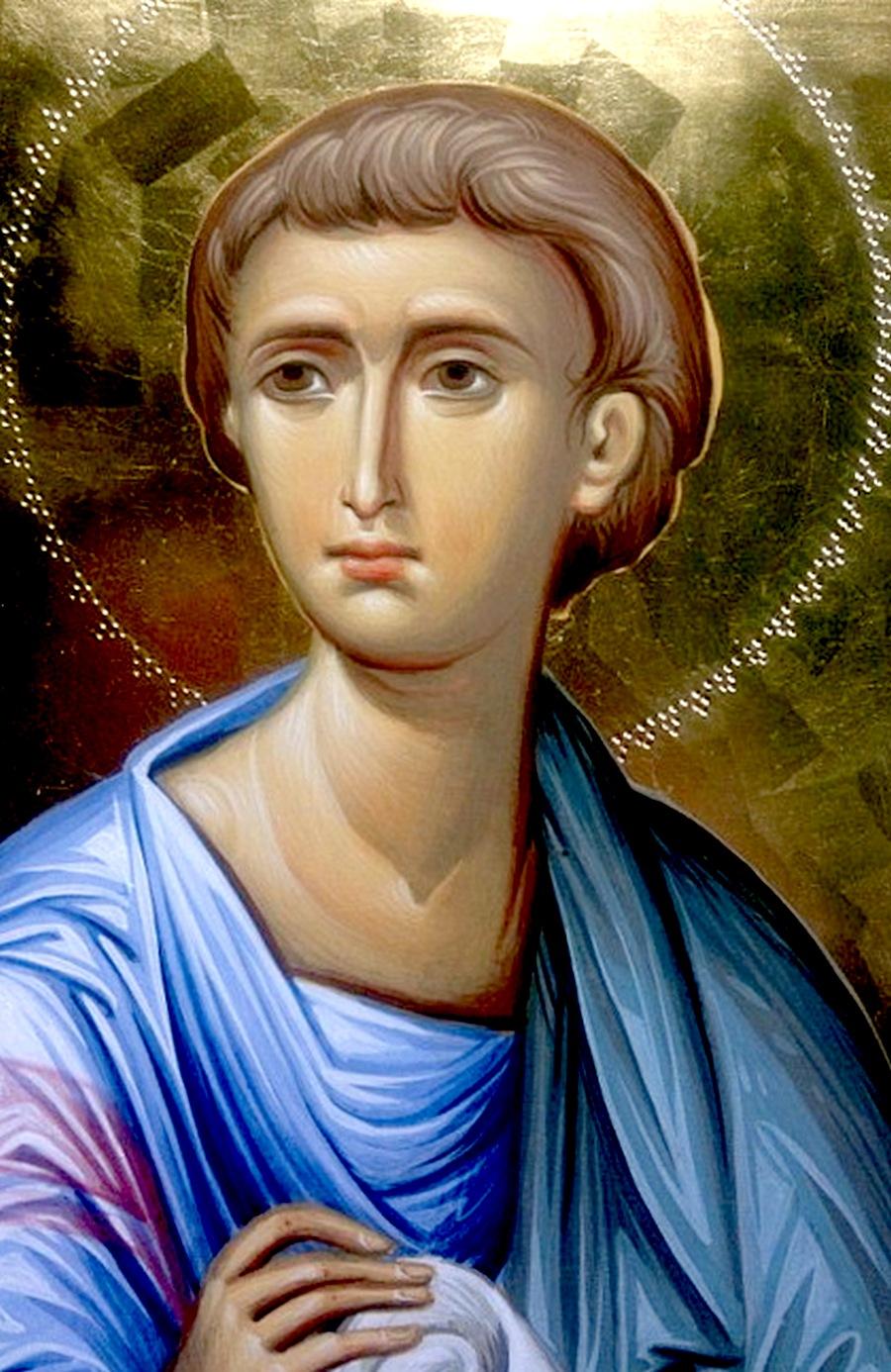 Святой Апостол от Семидесяти Фаддей. Иконописец Зураб Модебадзе.