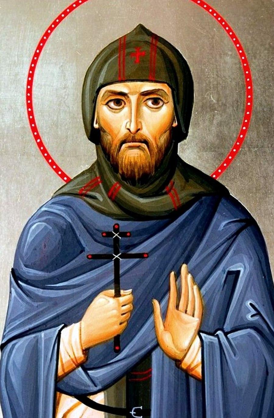 Святой Благоверный Великий Князь Александр Невский, в схиме Алексий.