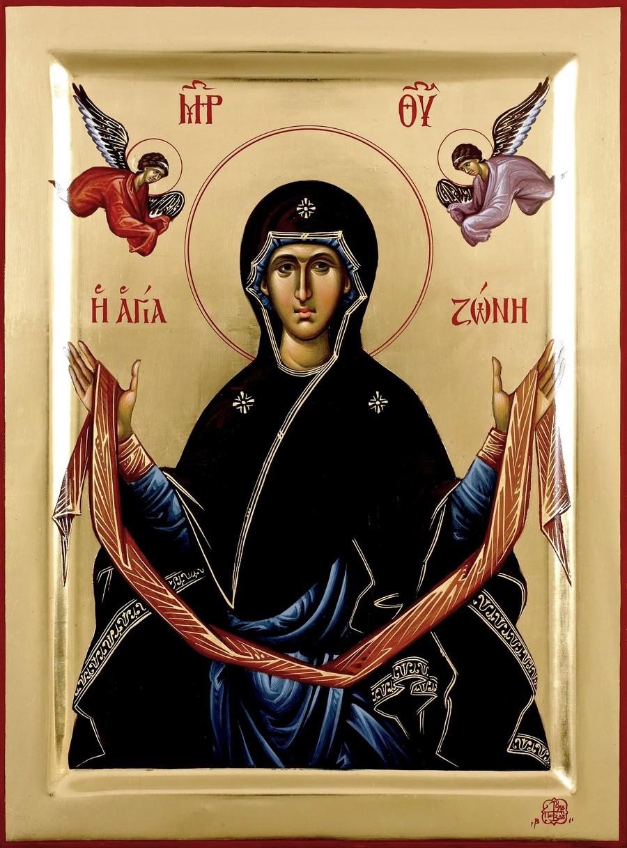 Пресвятая Богородица с честным Поясом.
