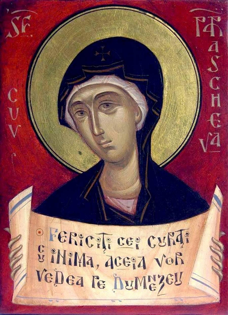 Святая Преподобная Параскева (Петка) Сербская. ИконописецGabriel Toma Chituc (Румыния),