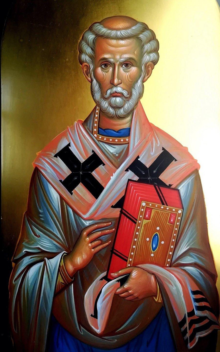 Священномученик Климент, Папа Римский. Иконописец Наталия Пискунова.