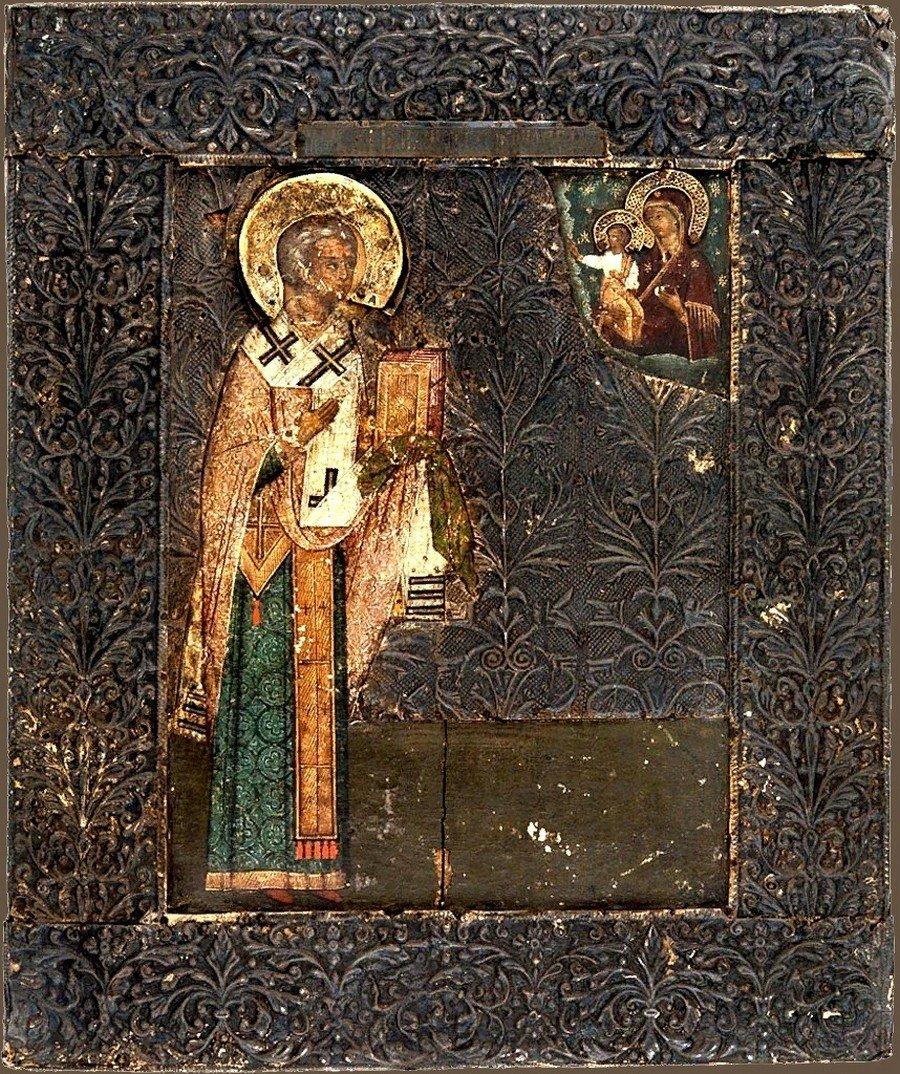 Святитель Никита, затворник Печерский, Епископ Новгородский.