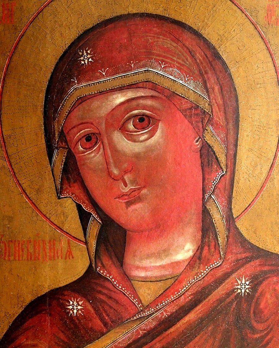 """Икона Божией Матери """"Огневидная""""."""