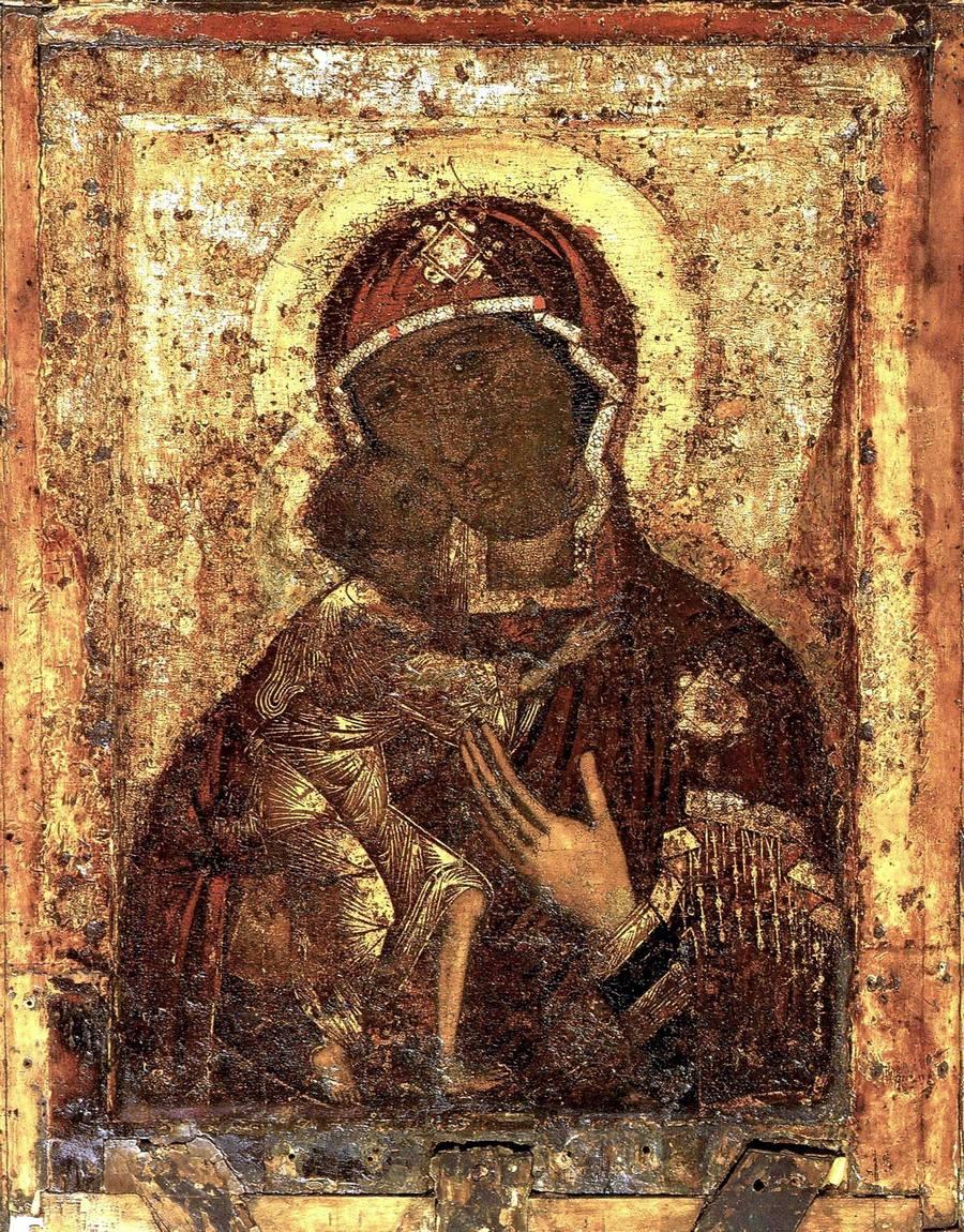 Чудотворная Феодоровская икона Божией Матери.