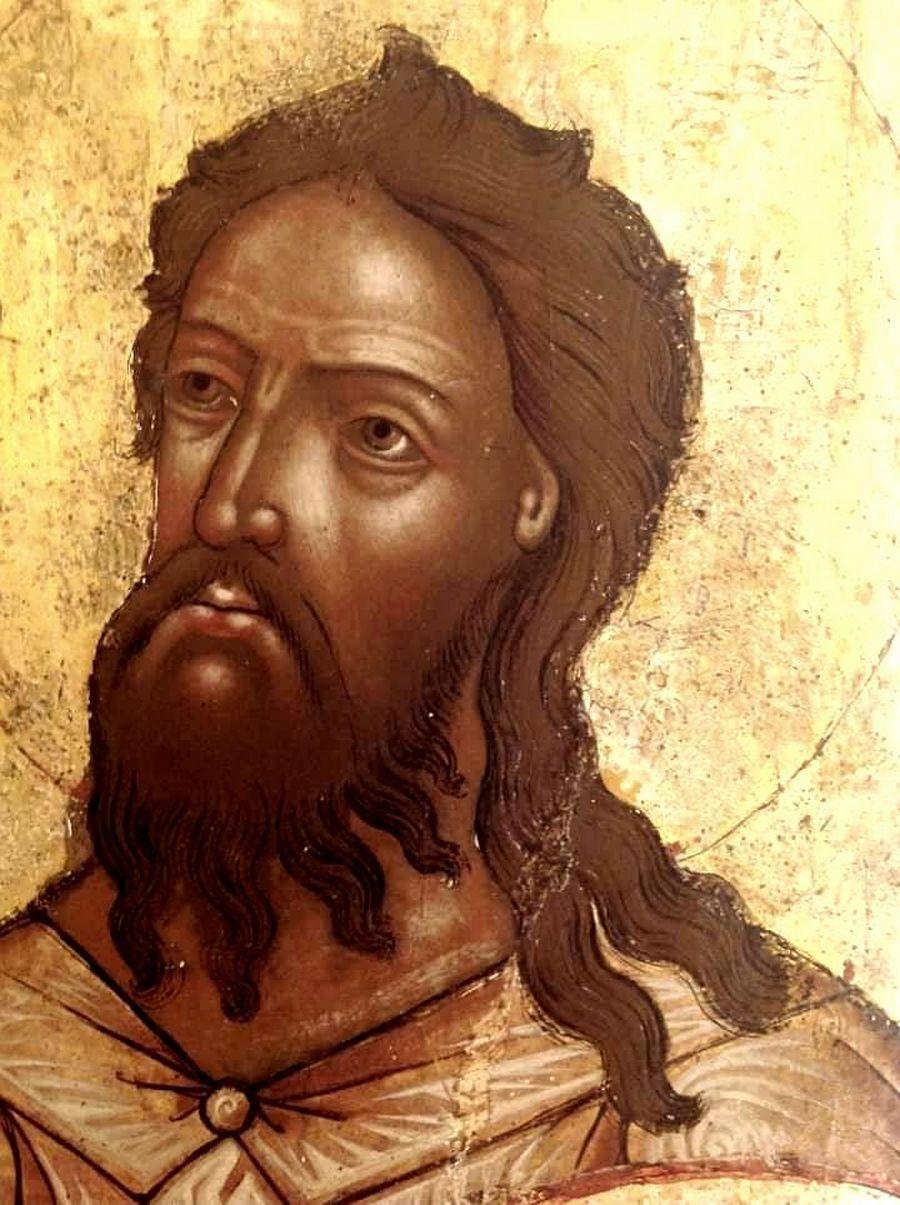 Святой Преподобный Алексий, человек Божий. Фрагмент ярославской иконы XVII века.