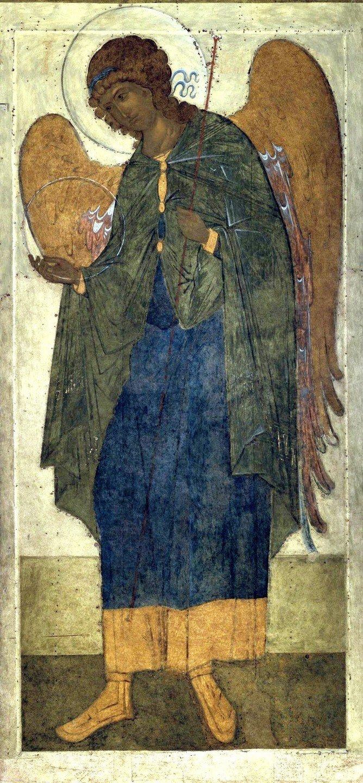 Архангел Гавриил. Икона. Тверь, середина XV века.