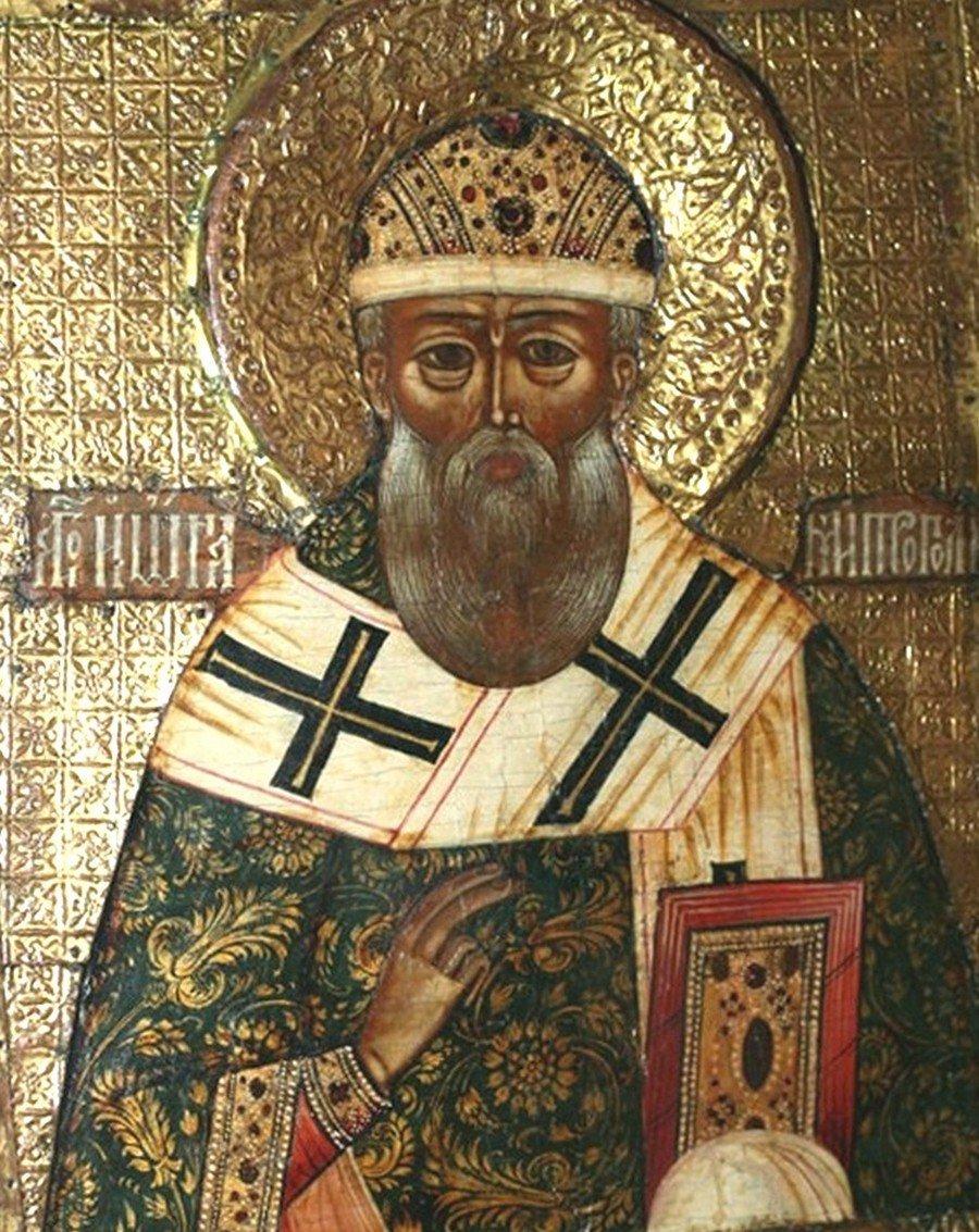 Святитель Иона, Митрополит Московский и всея России Чудотворец.