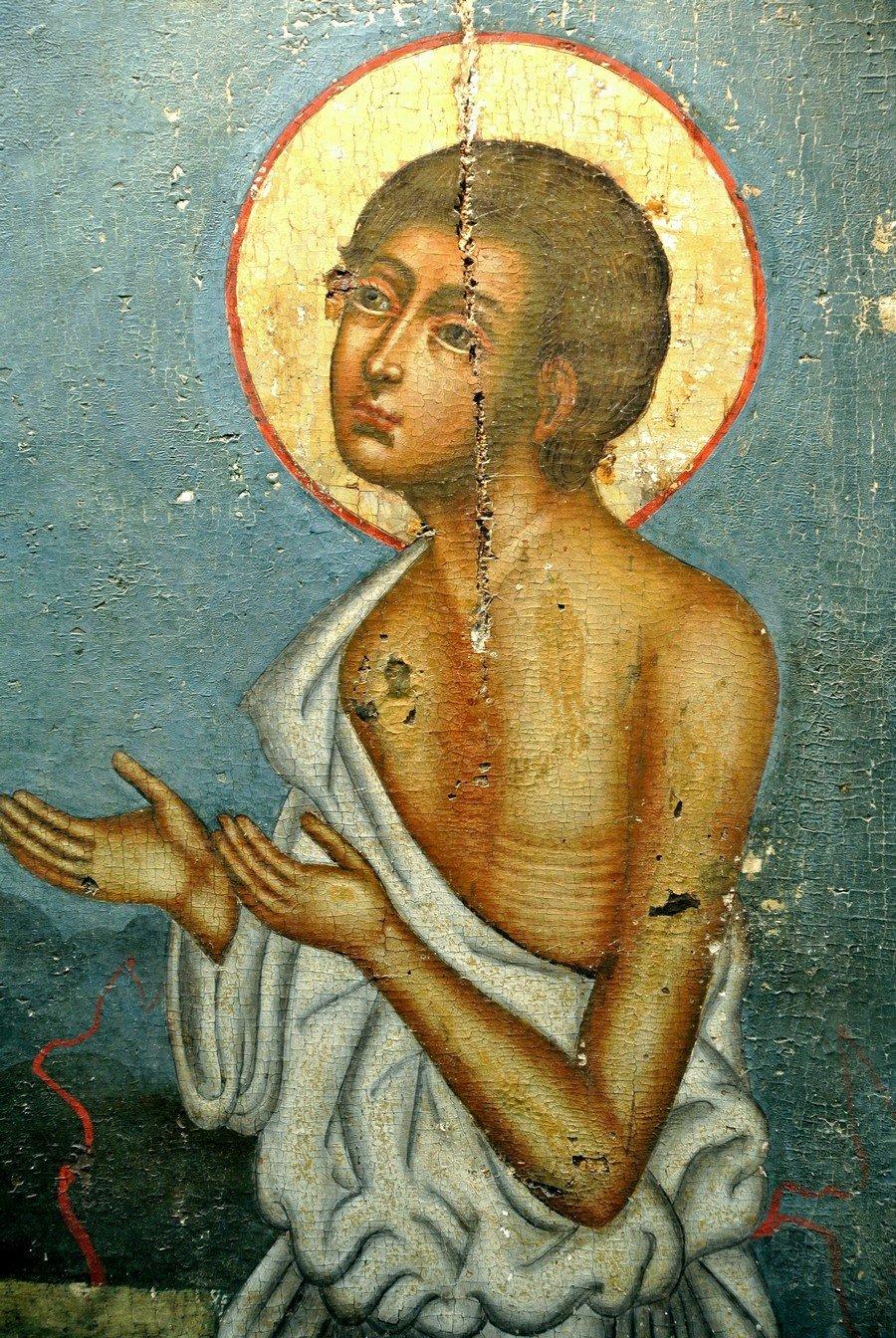 Святой Блаженный Иоанн Устюжский, Христа ради юродивый.