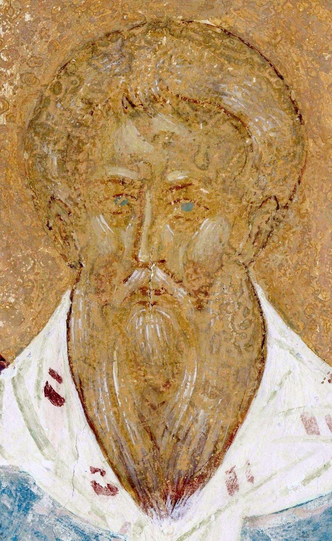 Праотец Завулон. Фреска Дионисия в соборе Рождества Пресвятой Богородицы Ферапонтова монастыря. 1502 год.