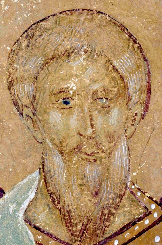 Праотец Неффалим. Фреска Дионисия в соборе Рождества Пресвятой Богородицы Ферапонтова монастыря. 1502 год.