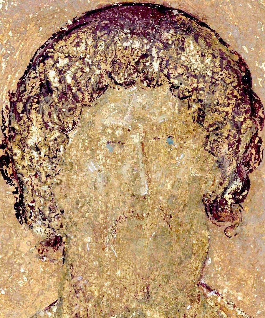 Праотец Иуда. Фреска Дионисия в соборе Рождества Пресвятой Богородицы Ферапонтова монастыря. 1502 год.