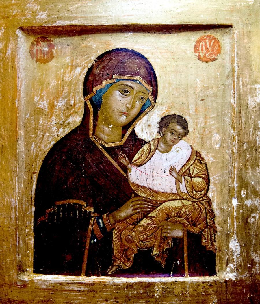 Коневская икона Божией Матери.