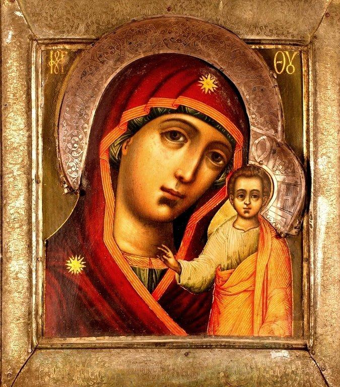 Казанская икона Божией Матери.