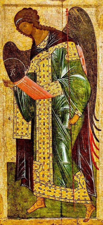 Архангел Гавриил. Икона. Новгород, XV век.