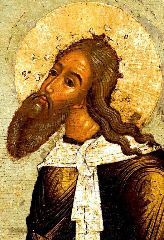 Святой Пророк Божий Илия. Иконописец Семён Спиридонов Холмогорец. 1678 год.