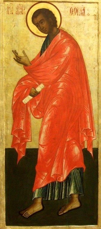 Святой Апостол Фома. Русская икона.