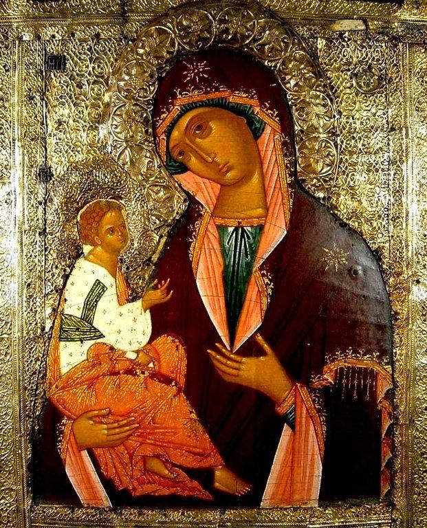 Иерусалимская икона Божией Матери.