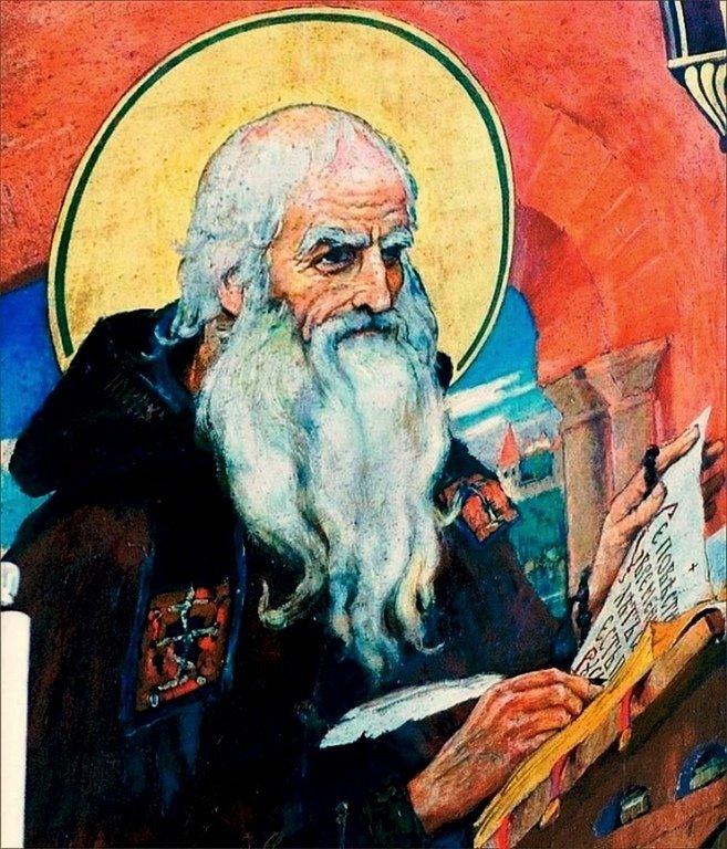 Святой Преподобный Нестор Летописец.