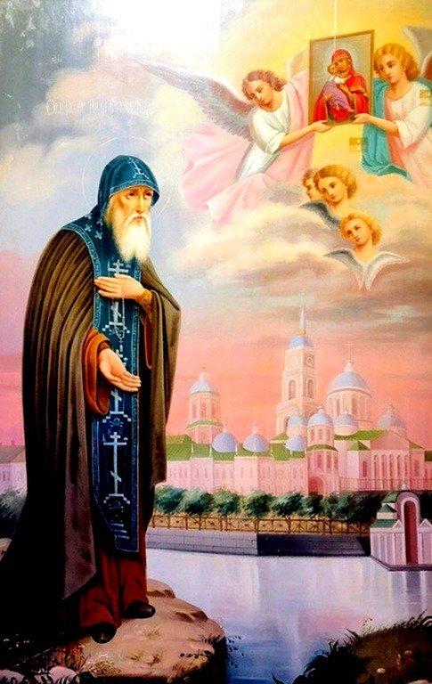 Святой Преподобный Нил Столобенский.
