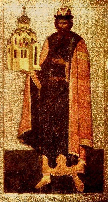 Святой Благоверный Князь Всеволод, во Святом Крещении Гавриил, Псковский.