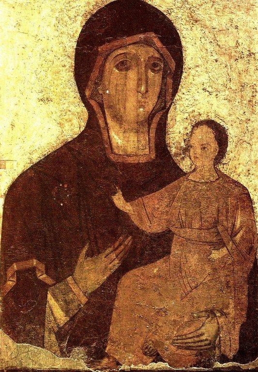 Феодотьевская икона Божией Матери.