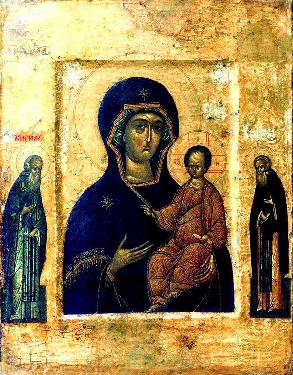 Смоленская икона Божией Матери.