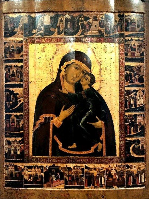 Толгская икона Божией Матери.