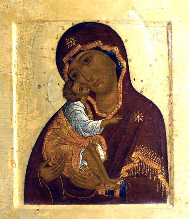Донская икона Божией Матери. Москва, вторая половина XVI века.
