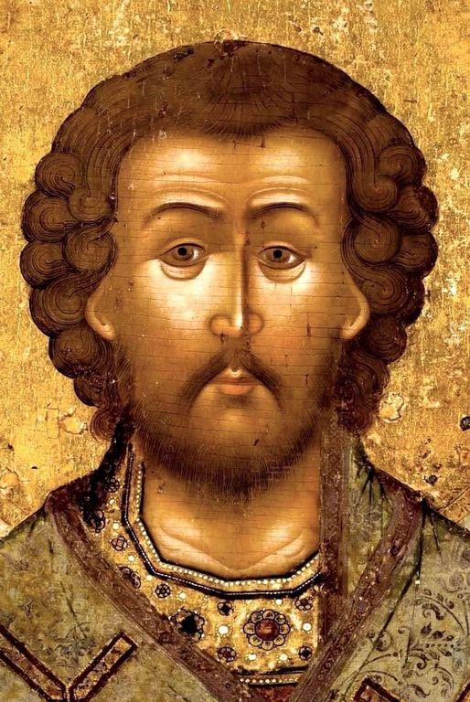 Святитель Иоанн Златоуст. Иконописец Семён Спиридонов Холмогорец. Ярославль, XVII век.