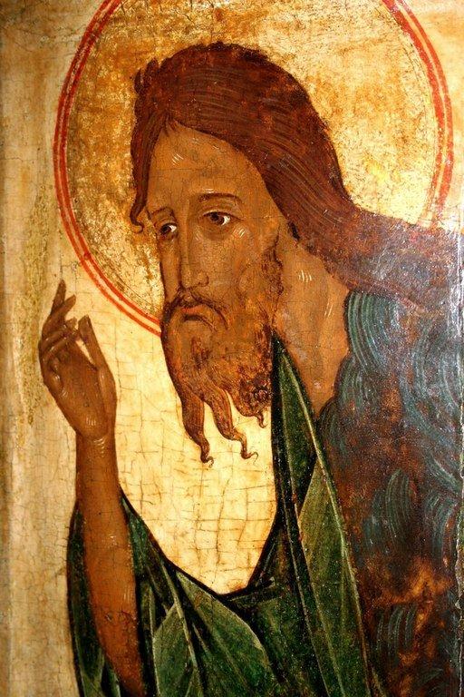 Святой Иоанн Предтеча. Икона псковской школы.