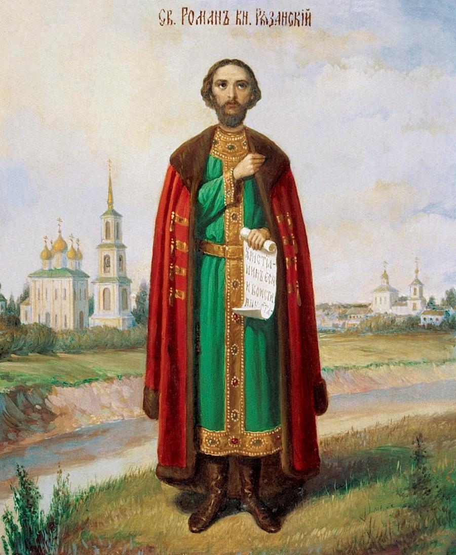 Святой Благоверный Князь Роман Олегович Рязанский.