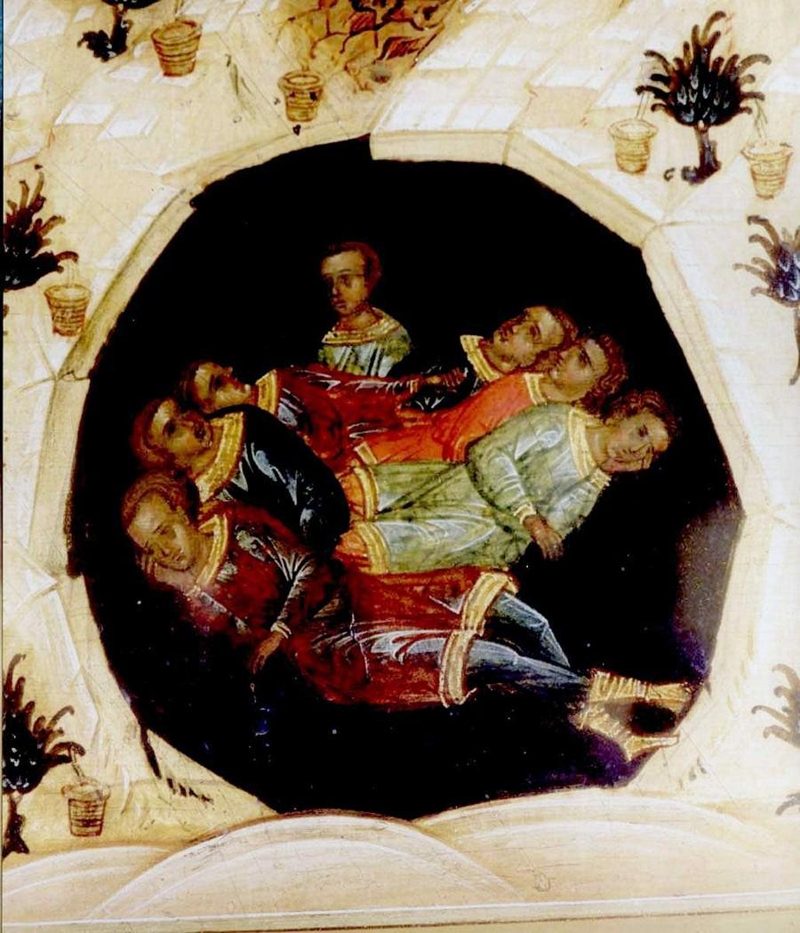 Святые семь отроков Ефесских.