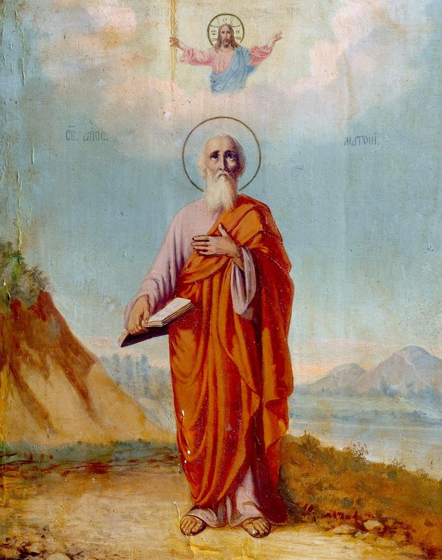 Святой Апостол Матфий.