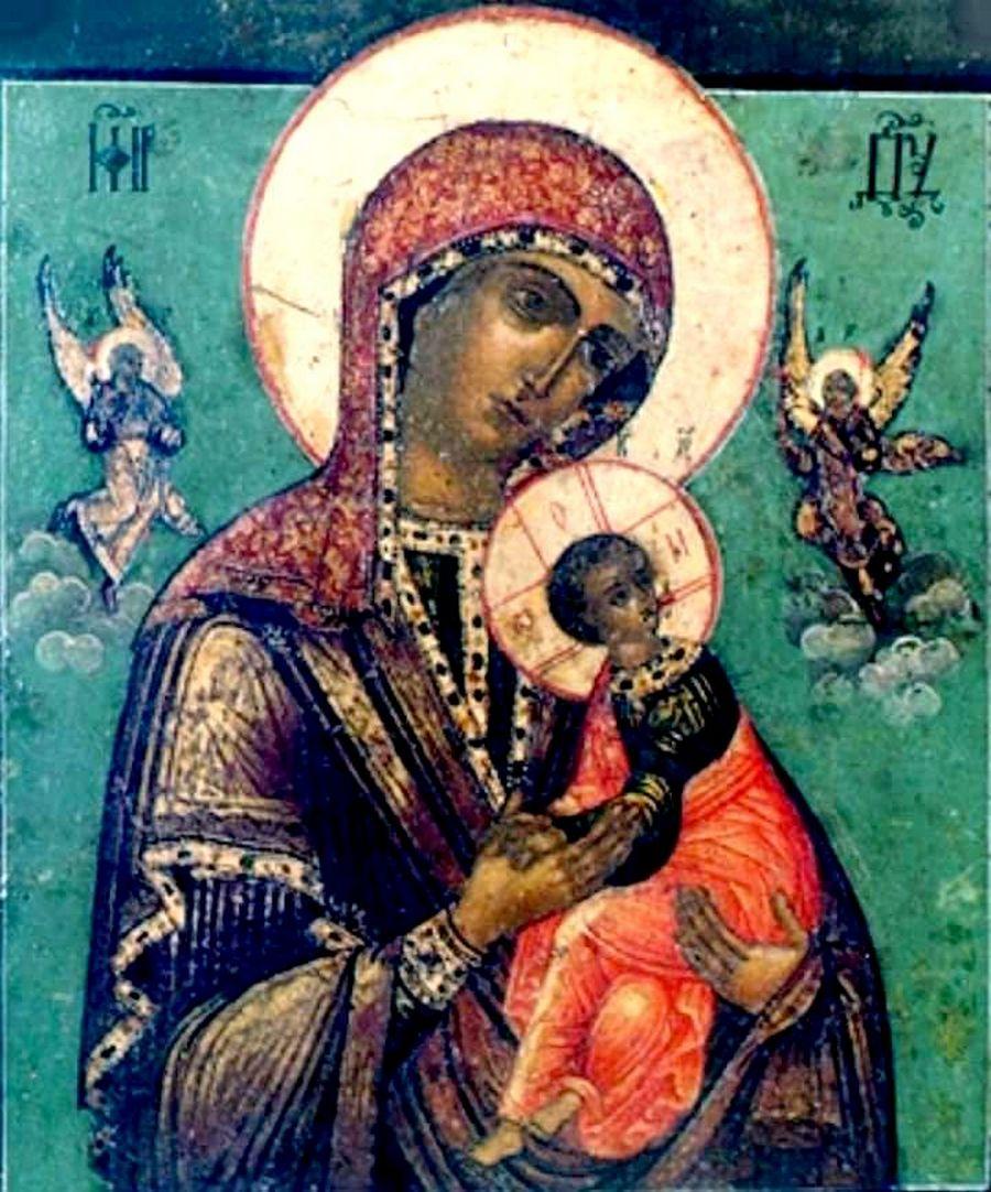 Страстная икона Божией Матери. Россия, XVIII век.