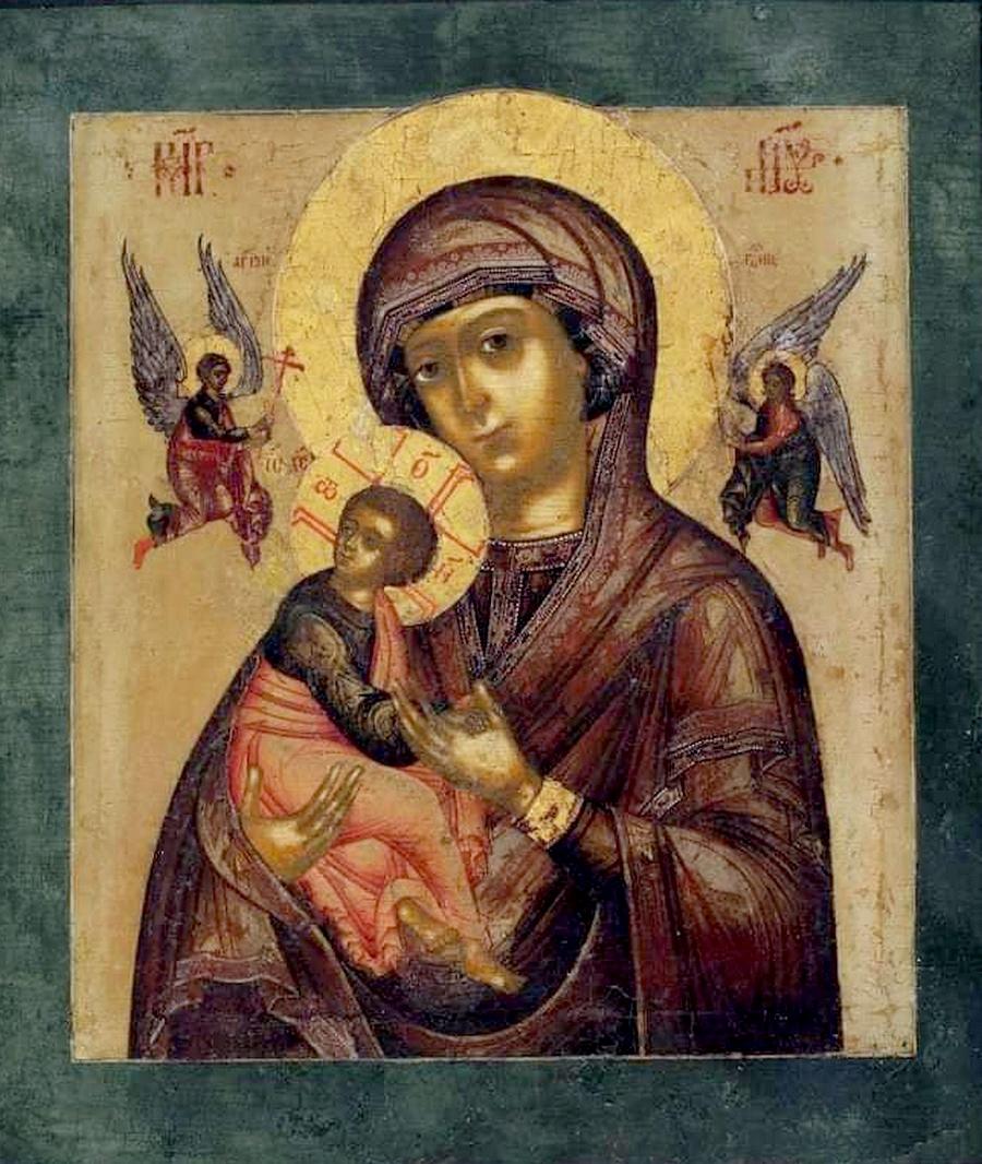 Страстная икона Божией Матери.