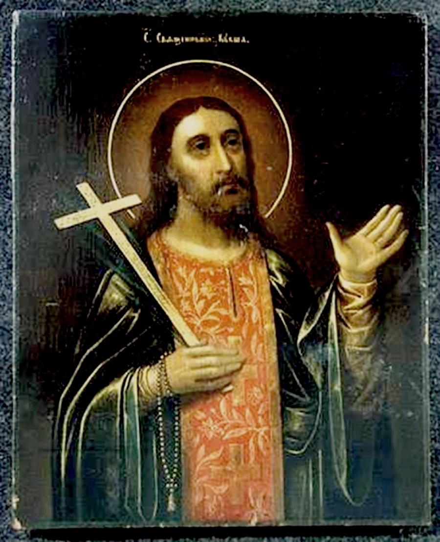 Святой Преподобный Священномученик Кукша Печерский.