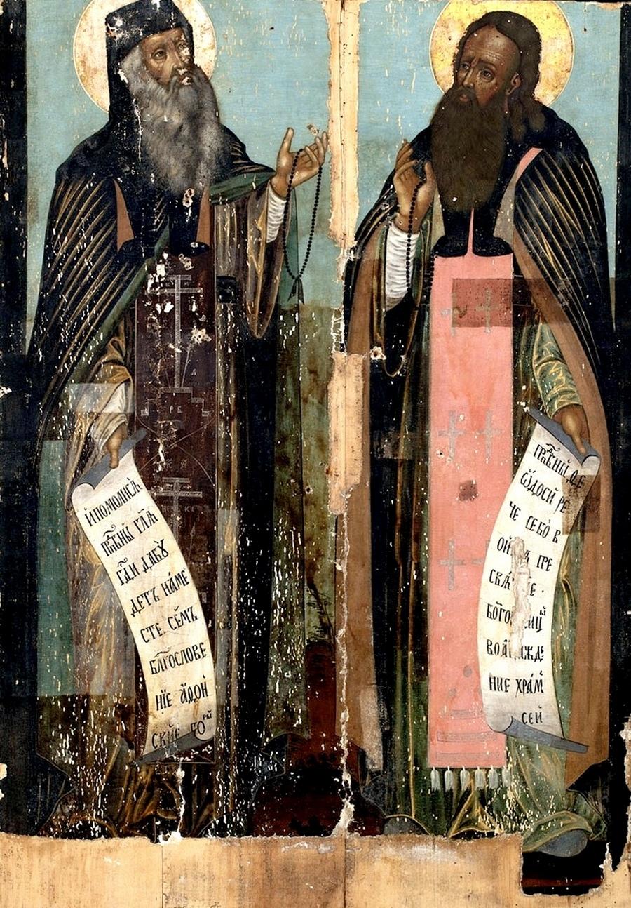 Святые Преподобные Антоний и Феодосий Печерские.